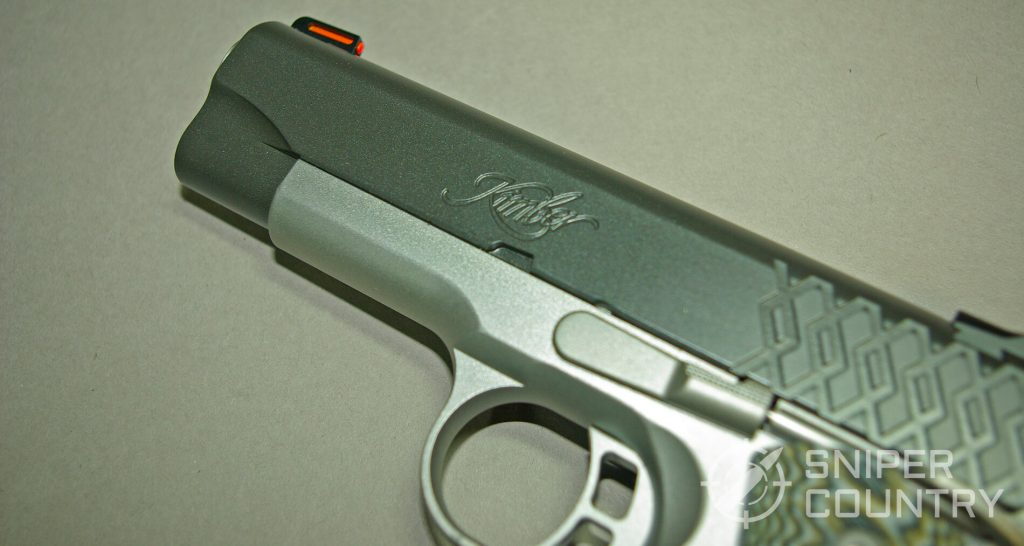 Kimber Aegis 9mm 1911 Trigger and Slide