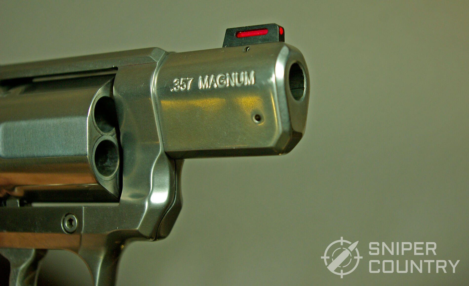 Kimber K6S Muzzle