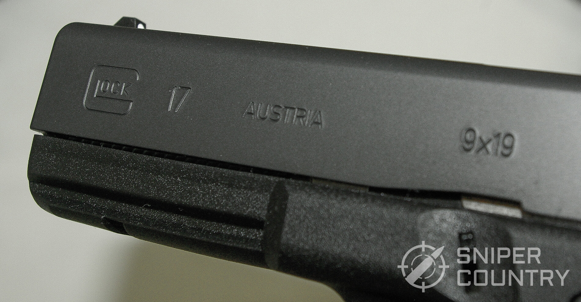 Left-slide of Glock 17