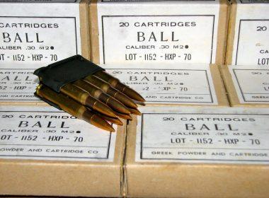 30-06 M2 Ball Ammo