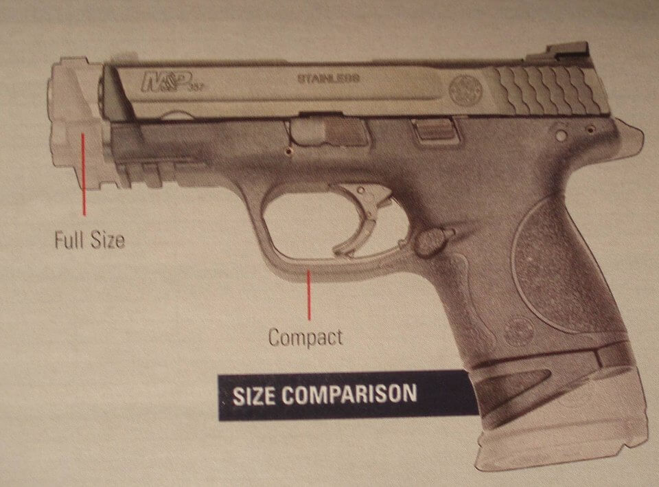 M&P Full Size vs Compact