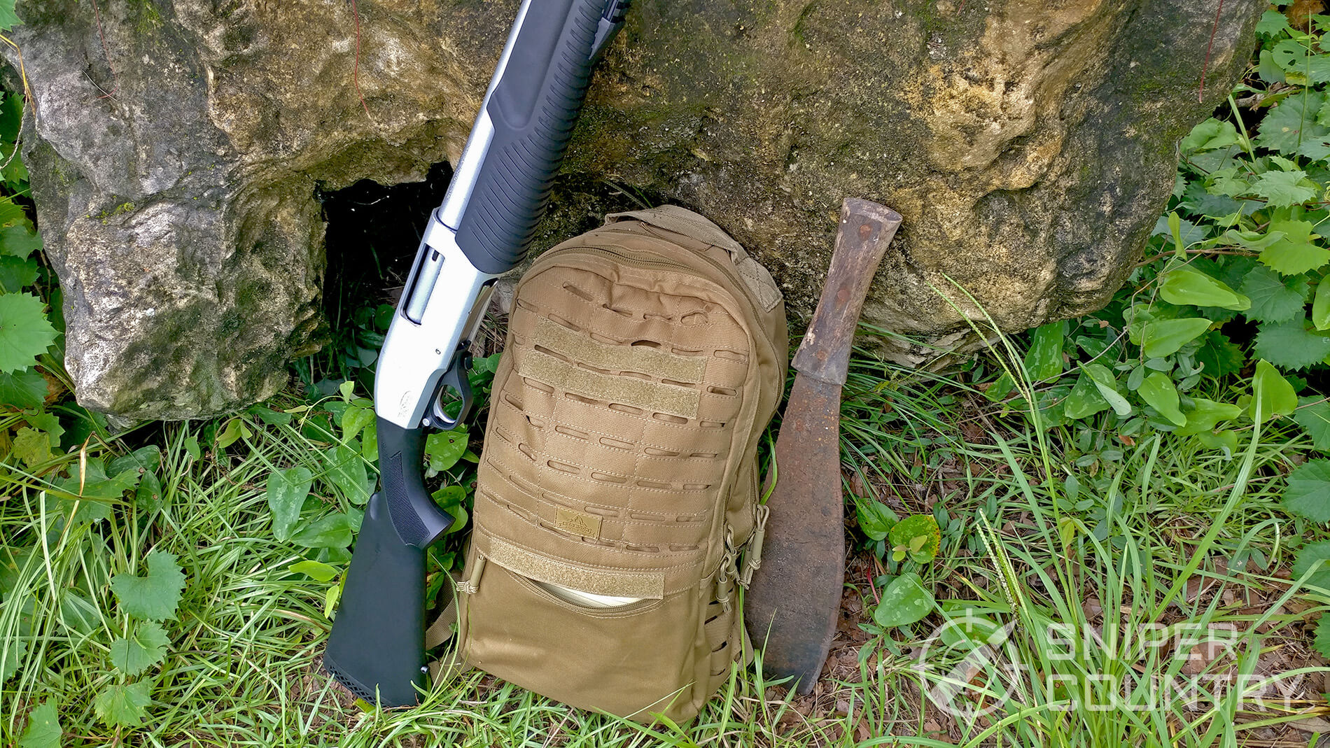 Red Rock CCW Backpack and gun