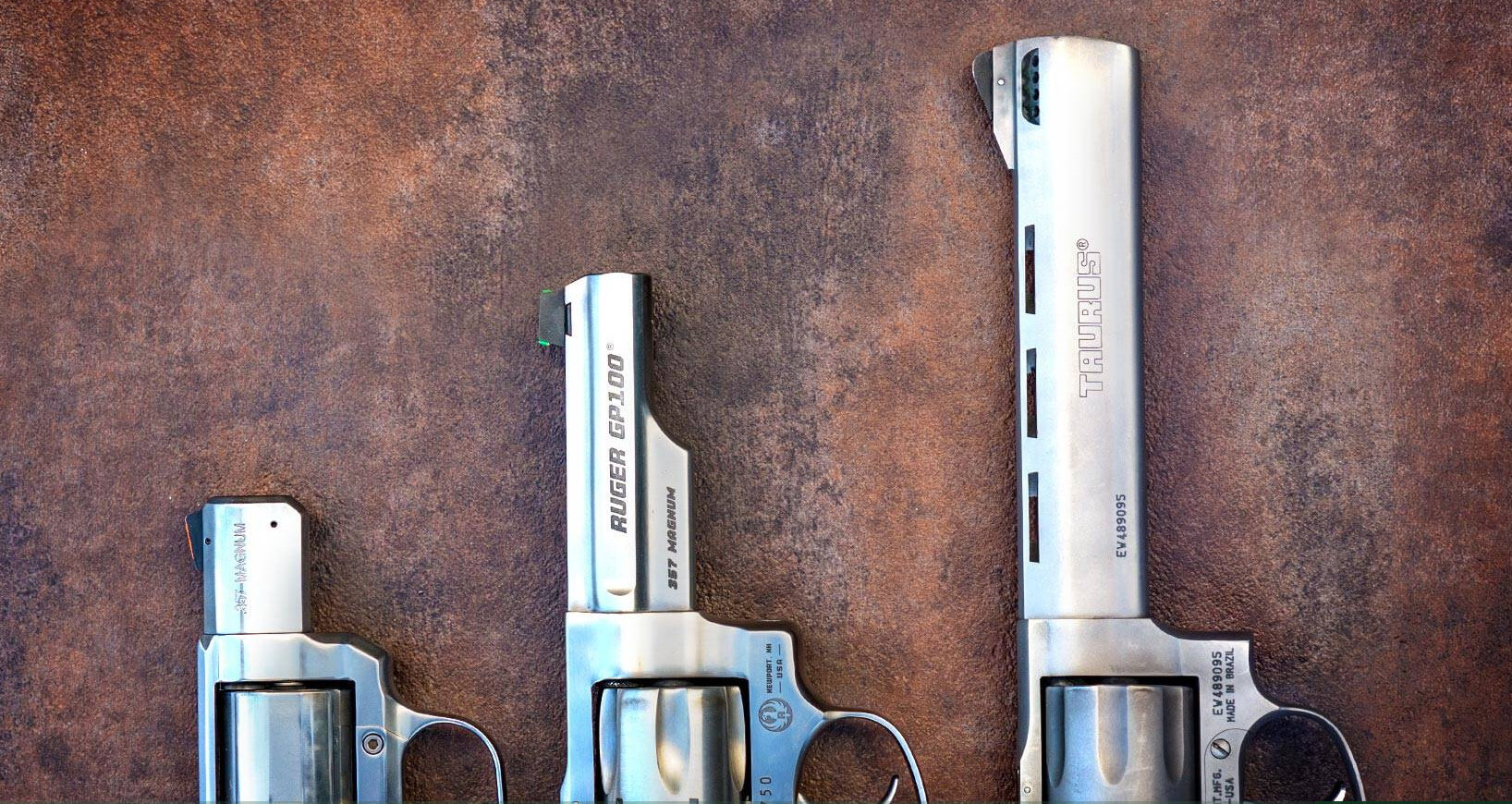 Revolver Barrel Length Comparison