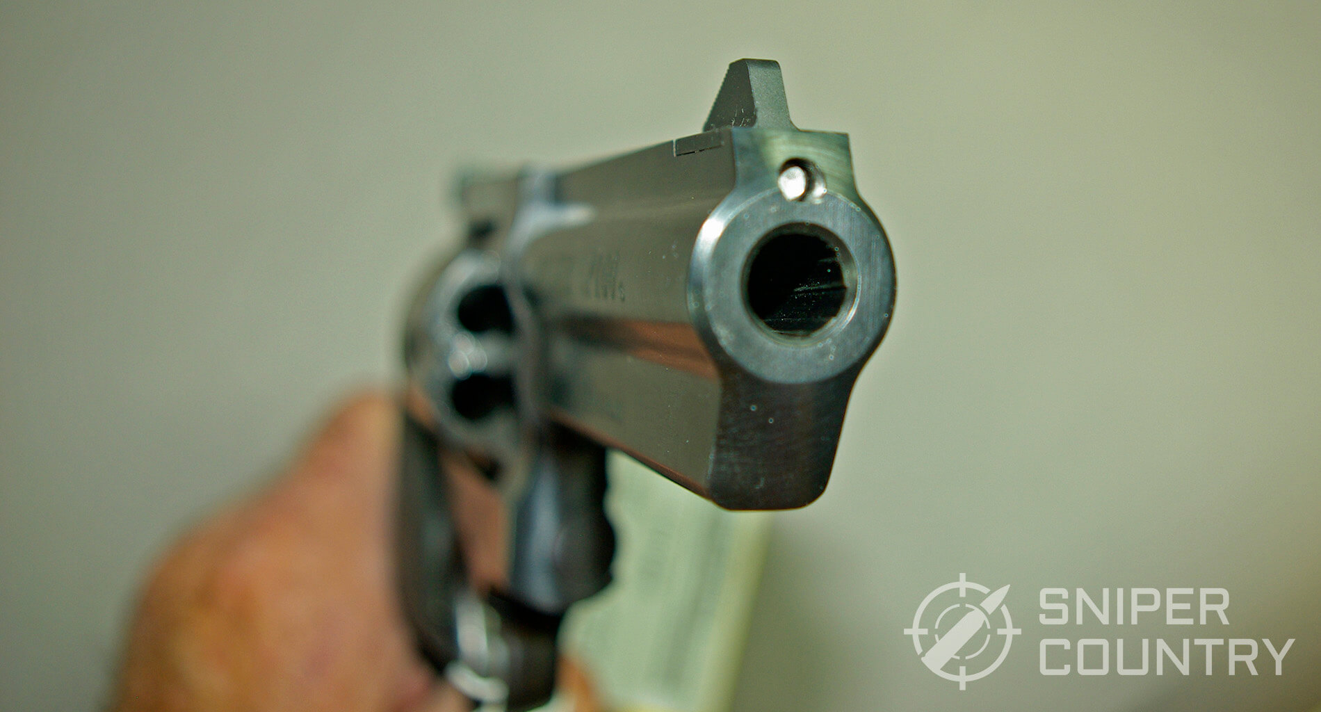Ruger GP-100 Muzzle
