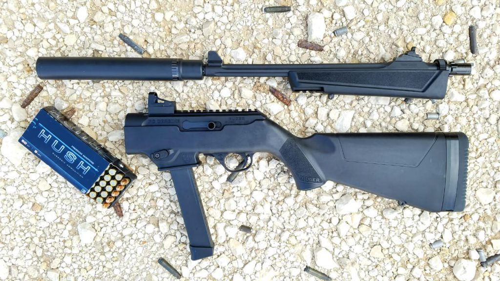 Ruger PC Carbine Disassembeled