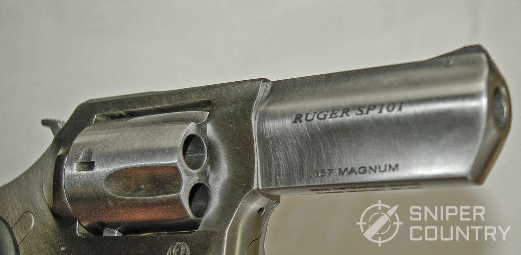 Ruger SP101 Barrel Left