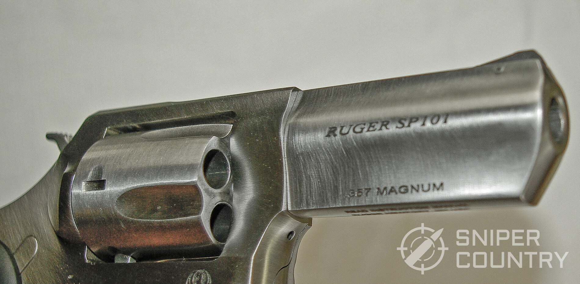 Ruger SP101 Barrel Left WM