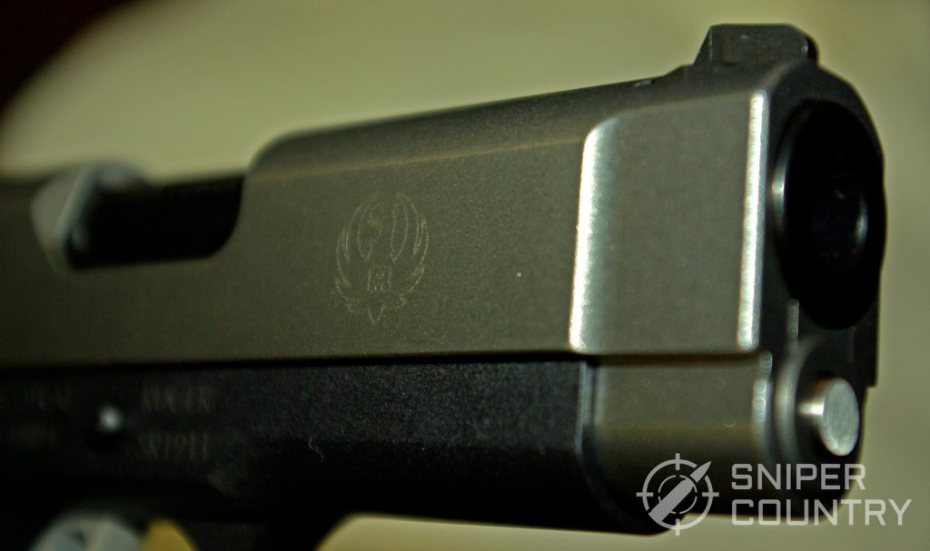 Ruger SR1911-9mm Compact Muzzle