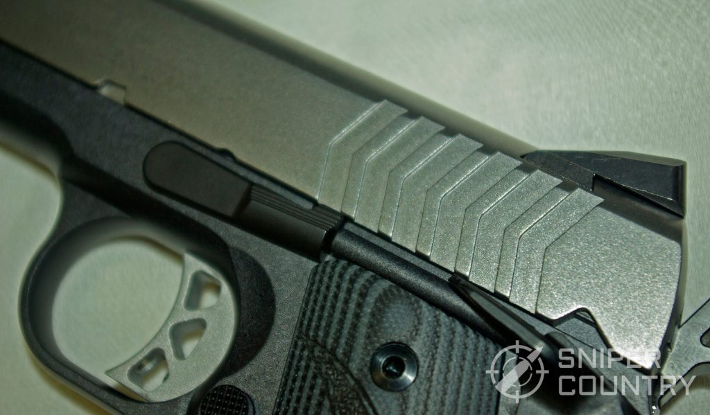Ruger SR1911-9mm Compact Trigger and Slide