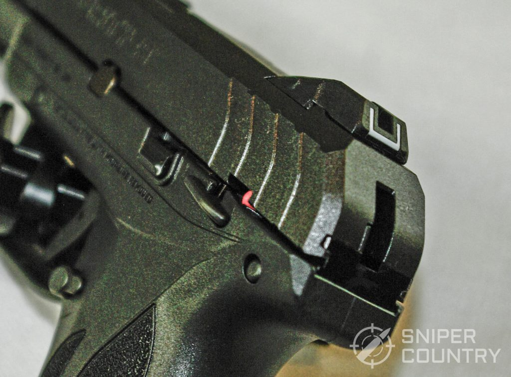 Ruger Security 9 Rear Sight