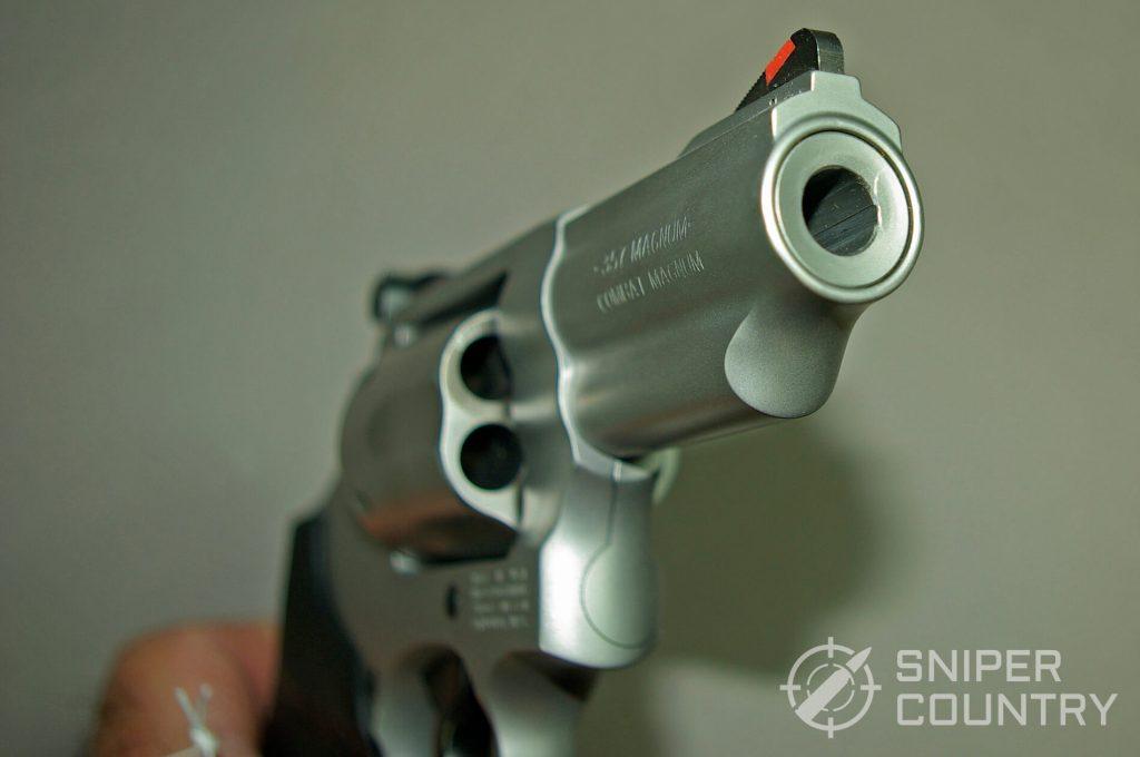 Smith & Wesson 66 2.75 Muzzle