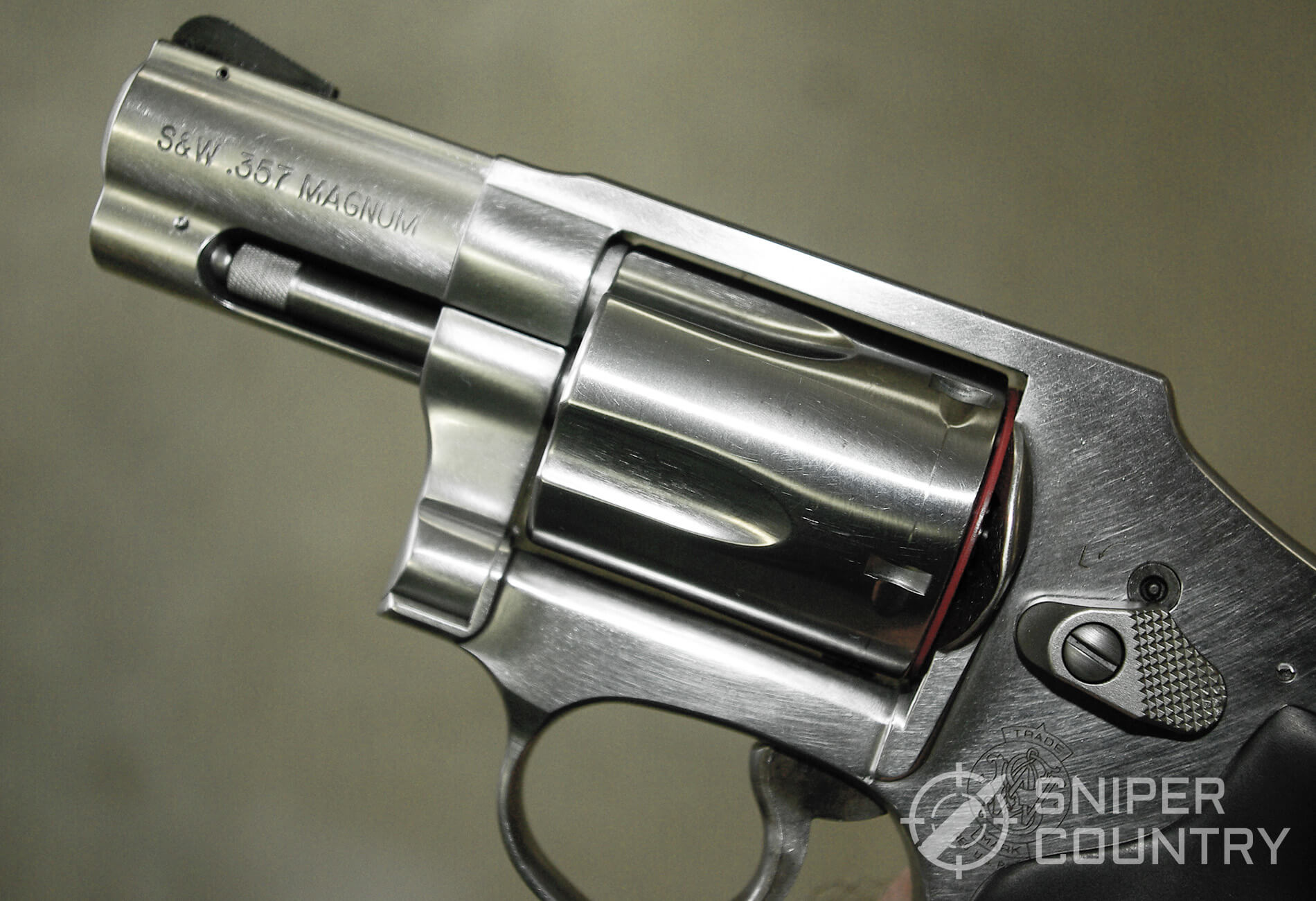 Smith & Wesson Model 640 Left Side Barrel and Frame
