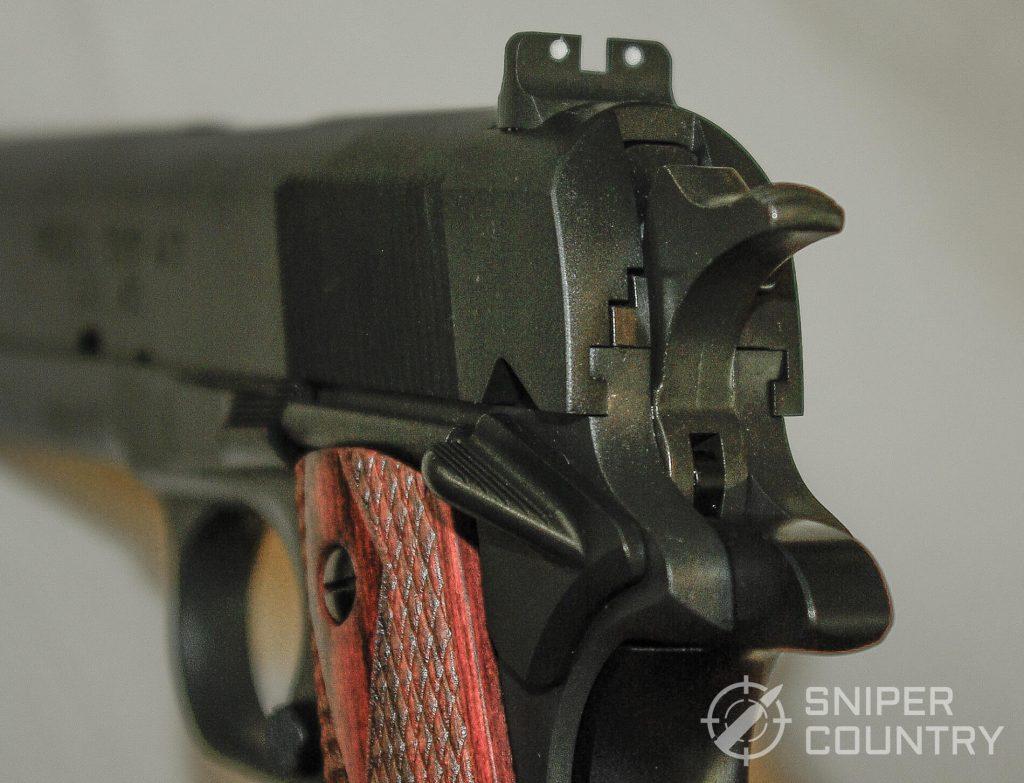 Springfield Mil-1911 Rear Sight