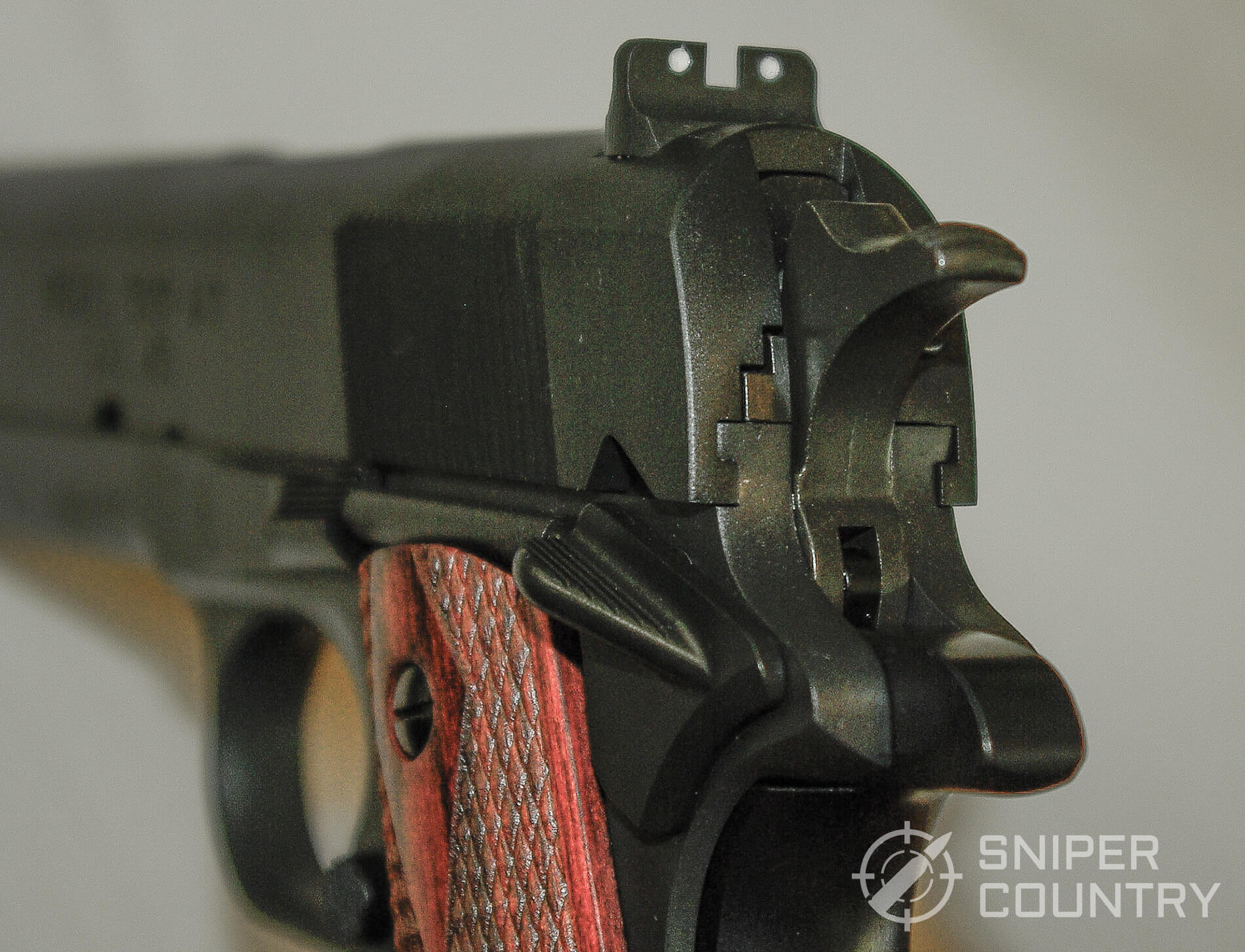 Springfield Mil-1911 Rear Sight