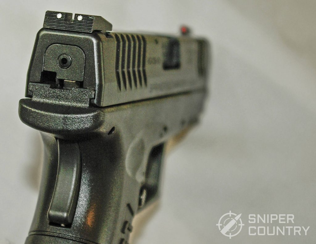 "Springfield XD(M) 3.8"" Compact Rear Sight Striker Indicator"