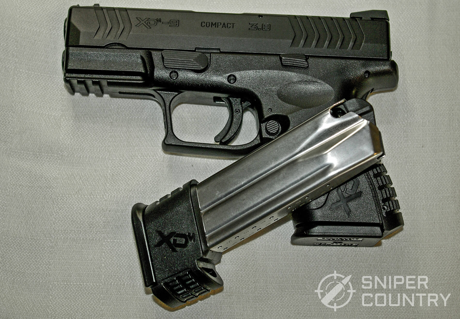 "Springfield XD(M) 3.8"" Compact with external Magazine"