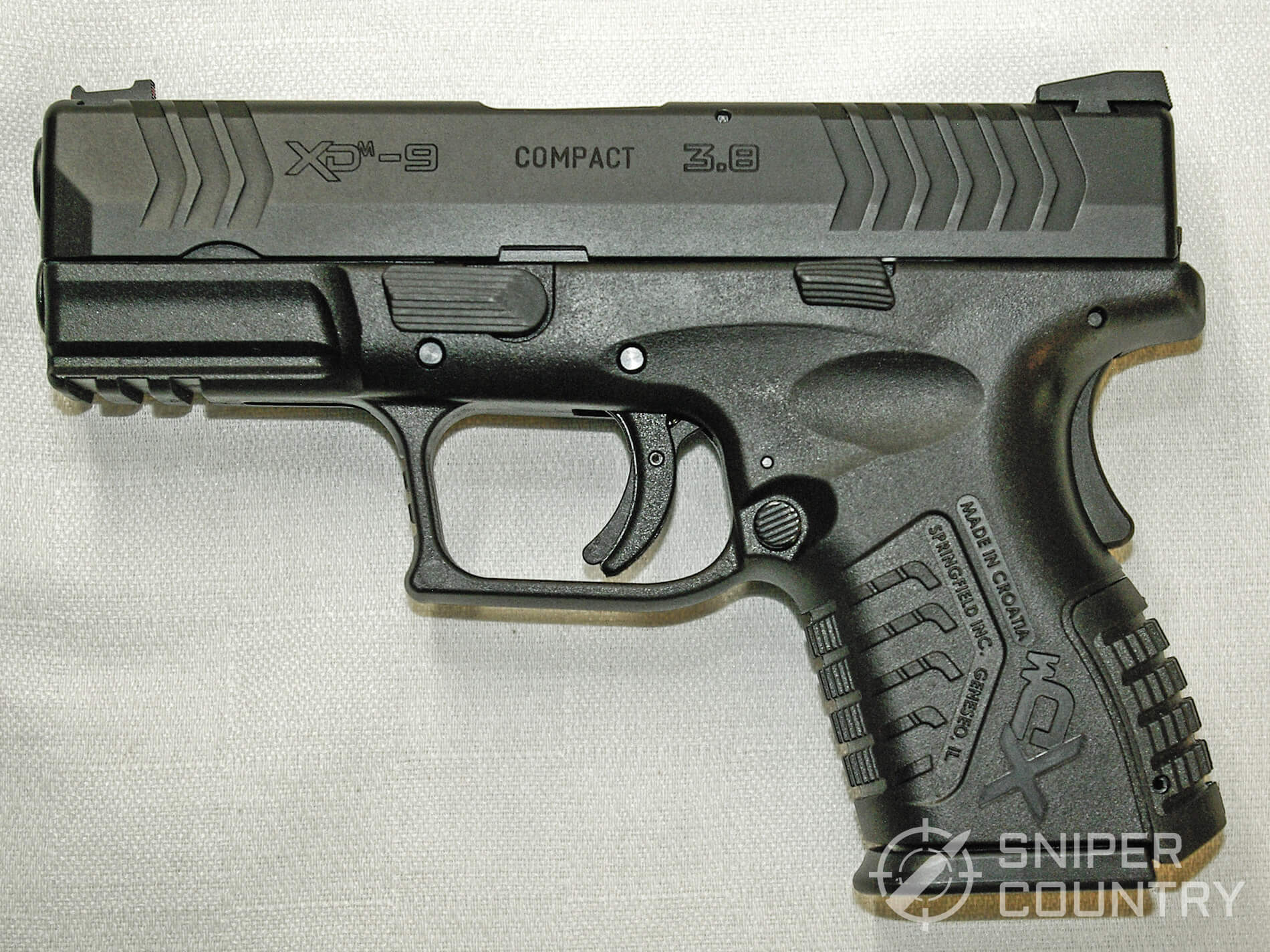 "Springfield XD(M) 3.8"" Compact"