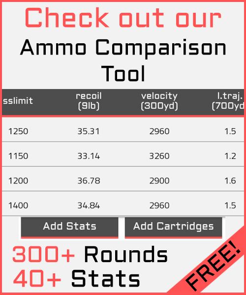 ammo comparison
