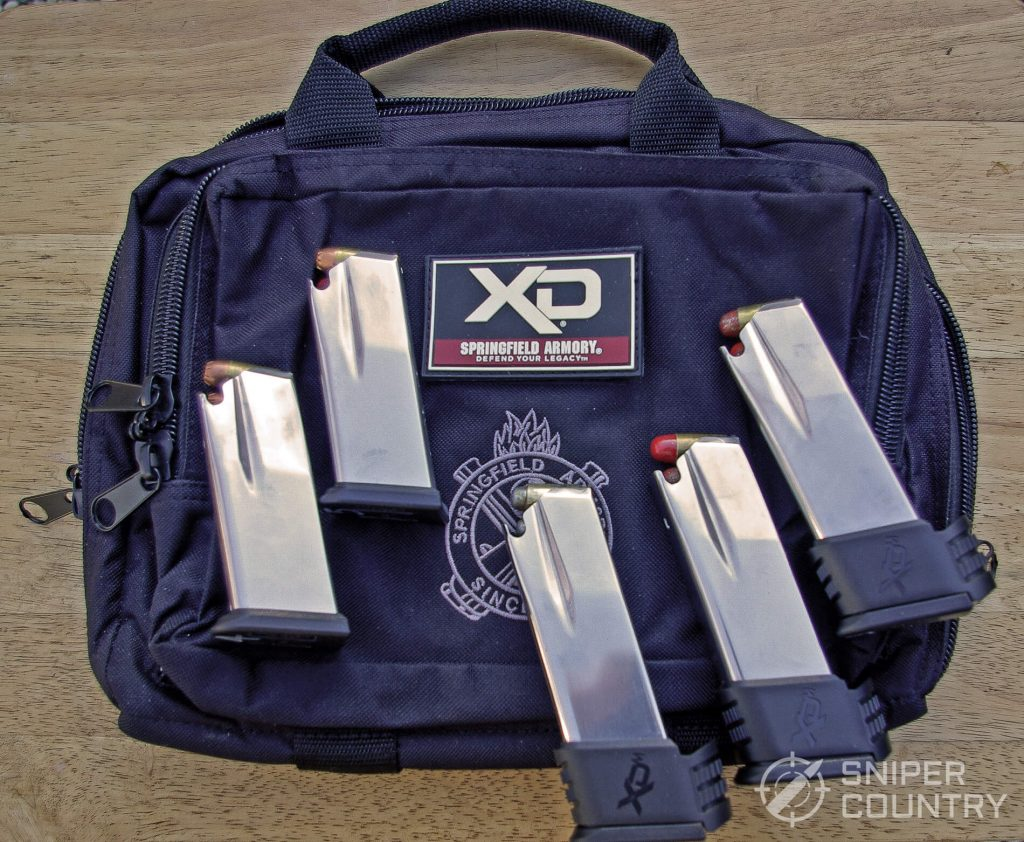 Range Bag and Magazines
