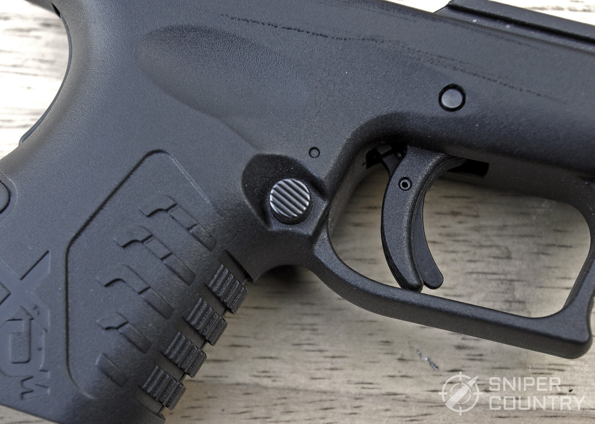 Springfield XDM 3.8 Compact Ambidextrous Magazine Release