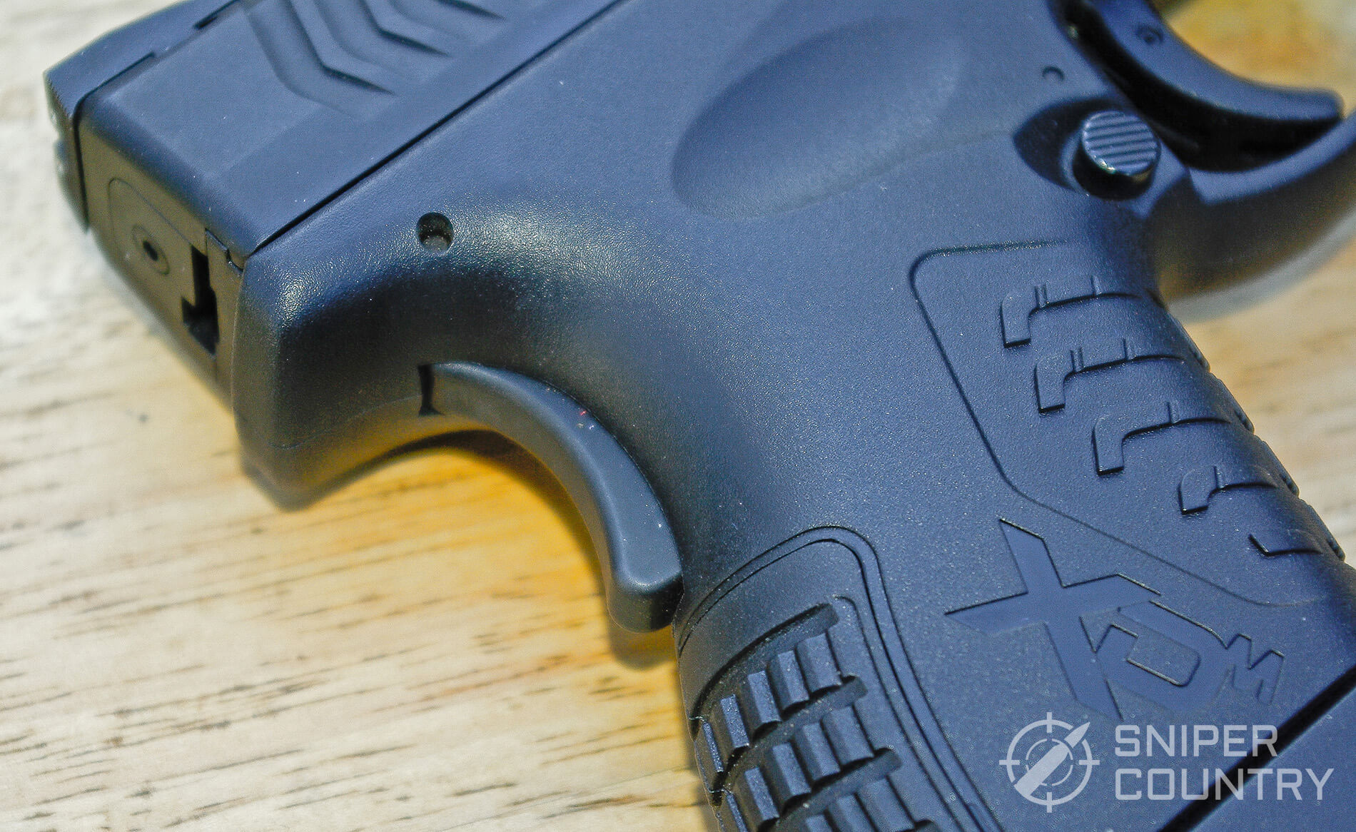 Springfield XDM 3.8 Compact Grip Safety