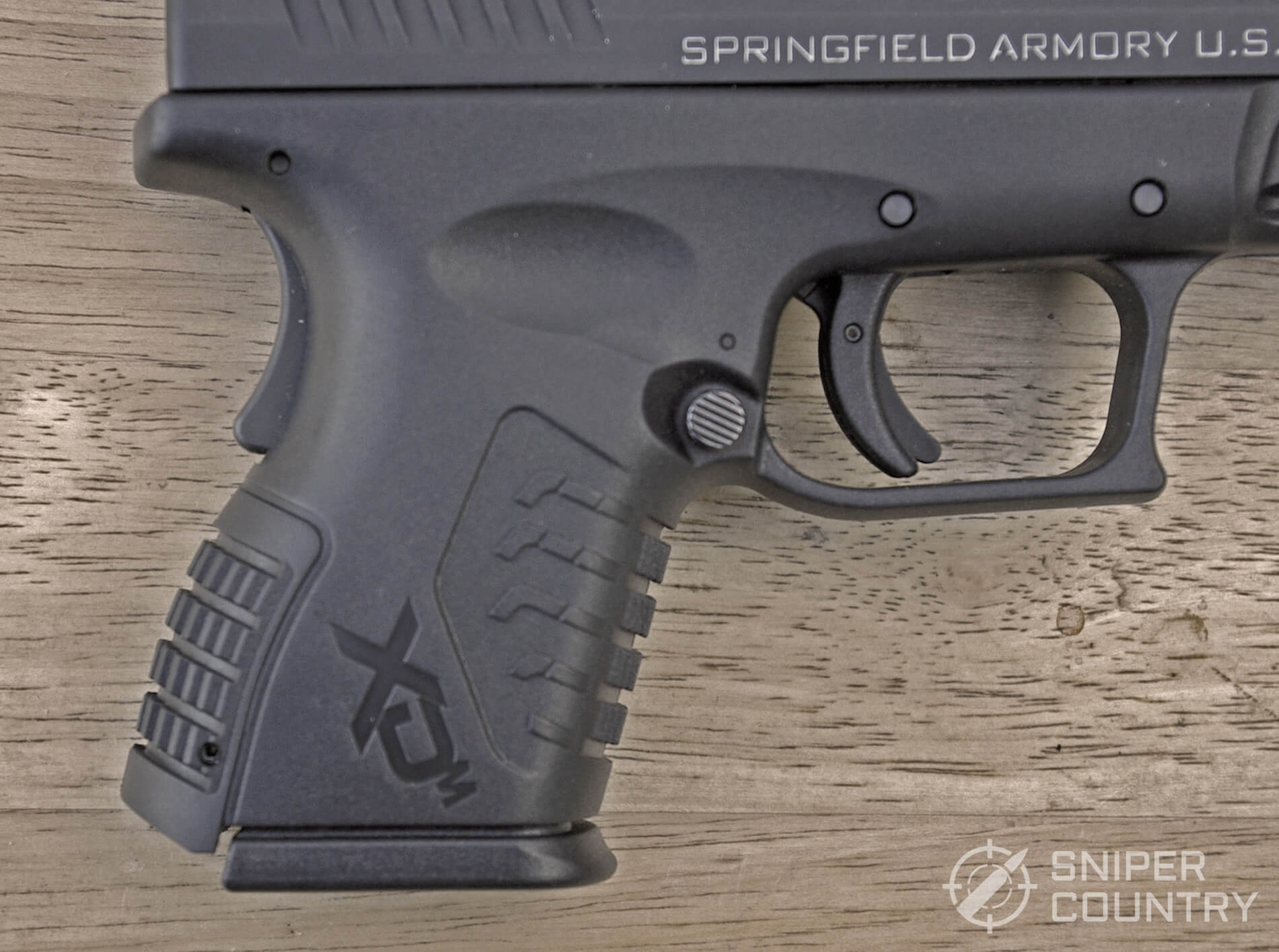 Springfield XDM 3.8 Compact Grip With Short Mag