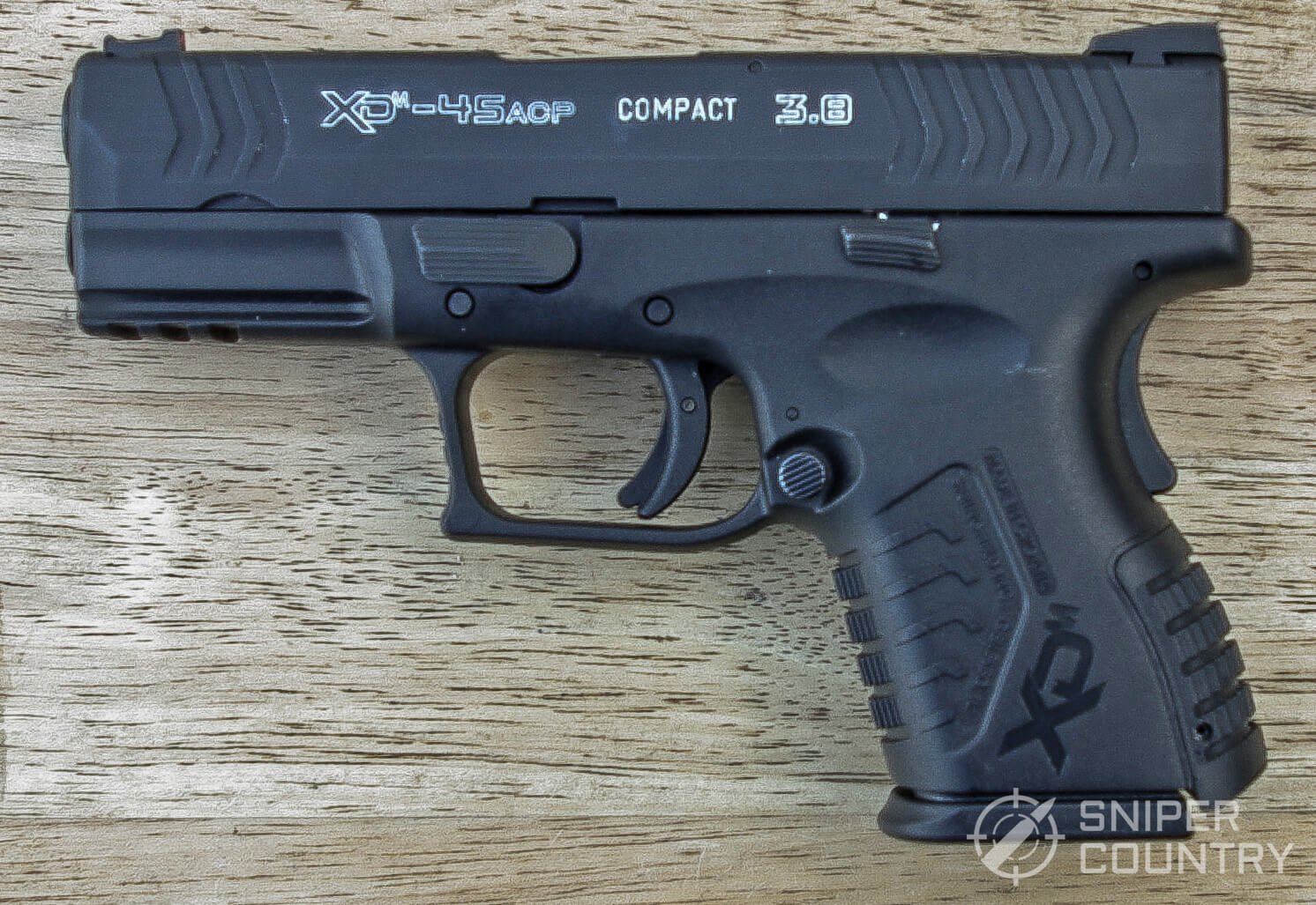 Springfield XDM 3.8 Compact Left Side