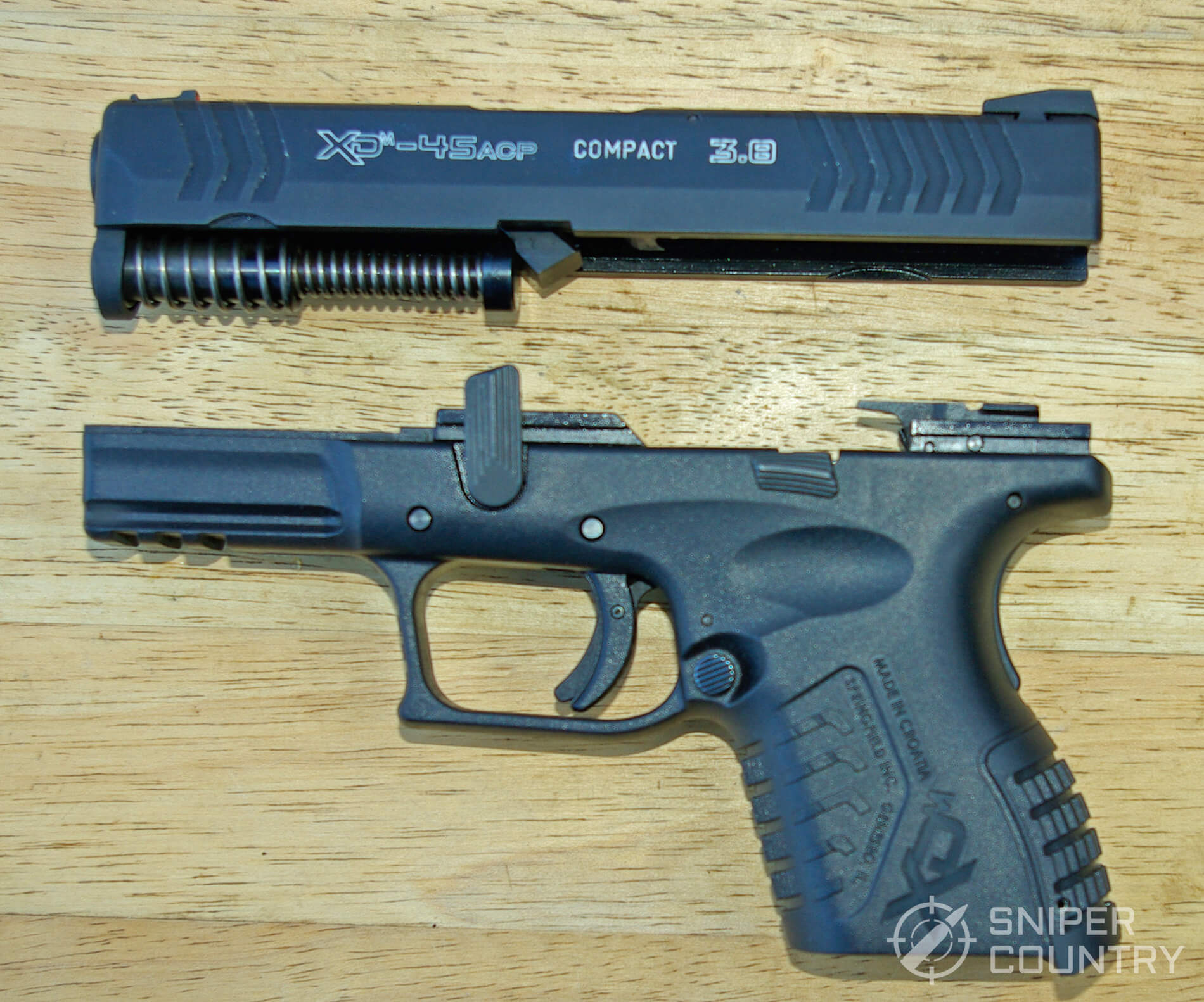 Springfield XDM 3.8 Compact Slide-Off Frame