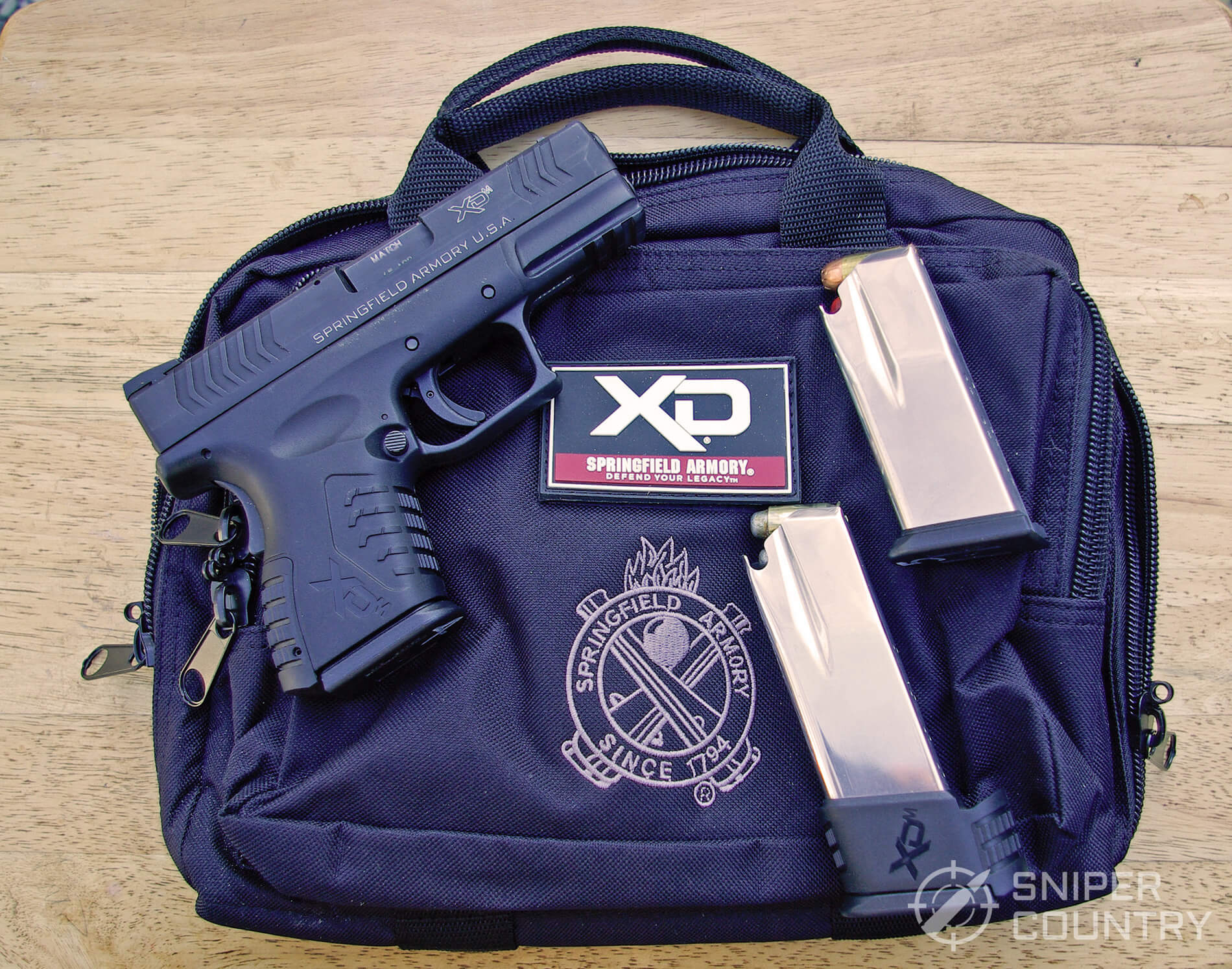 Springfield XDM 3.8 Compact Title Shot