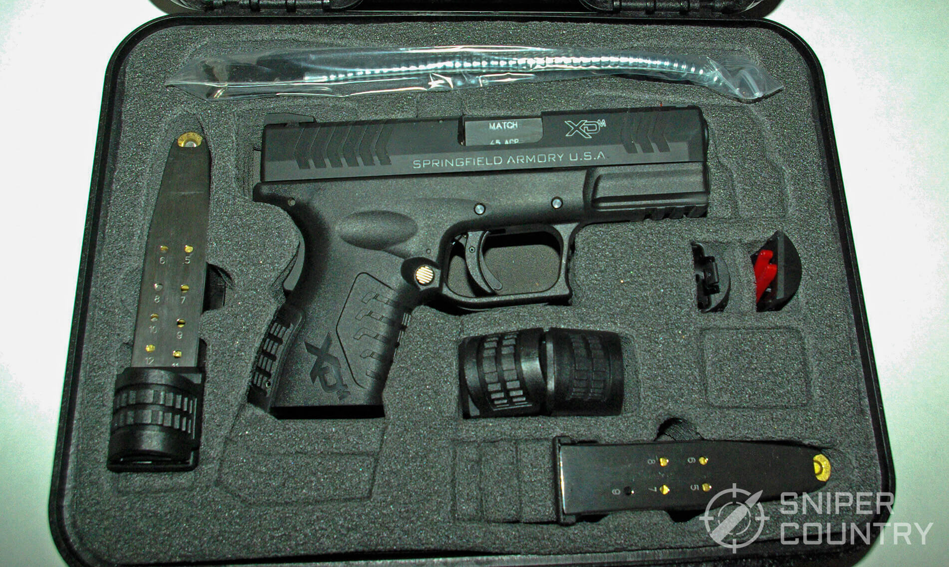 Springfield XDM 3.8 Compact full Case