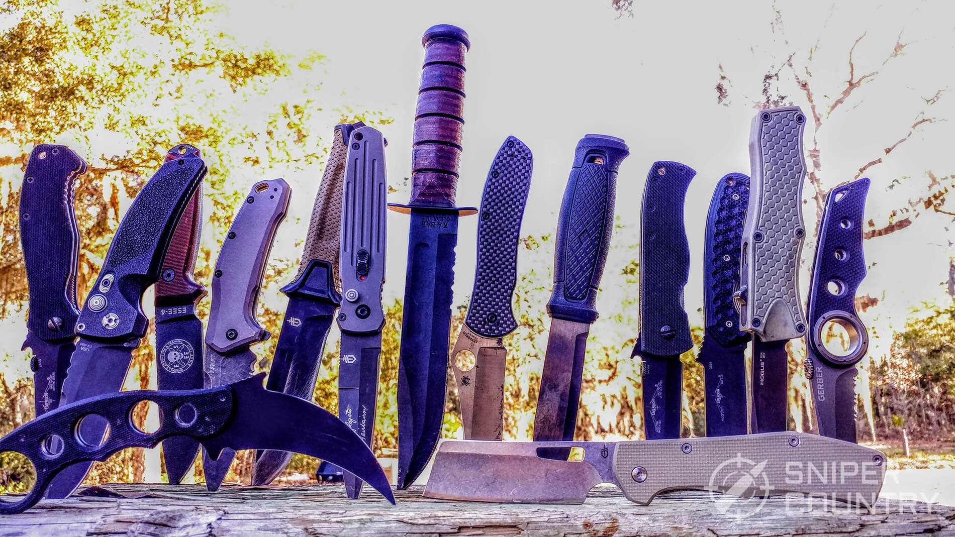 Best Tactical Knives 2019 Hands On Tested Sniper Country