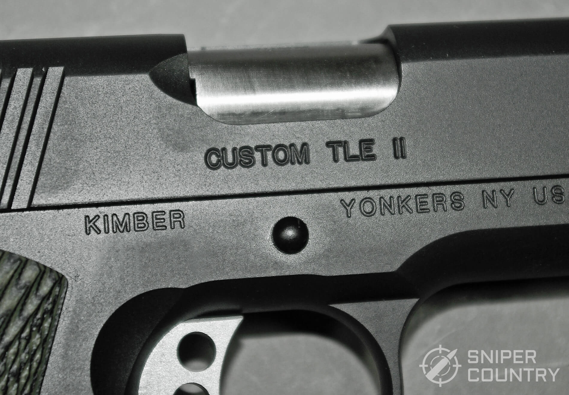 Kimber 1911 TLE II 10mm Trigger and Logo
