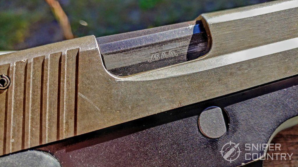 Sig Sauer P220 Ejection Port
