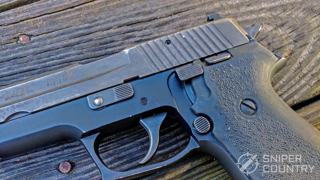 Sig Sauer P220 Trigger and Magazine and Decocker