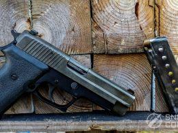 Sig Sauer P220 and Magazine