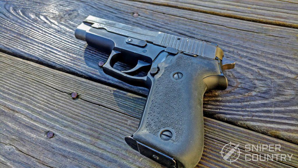 Sig Sauer P220 back