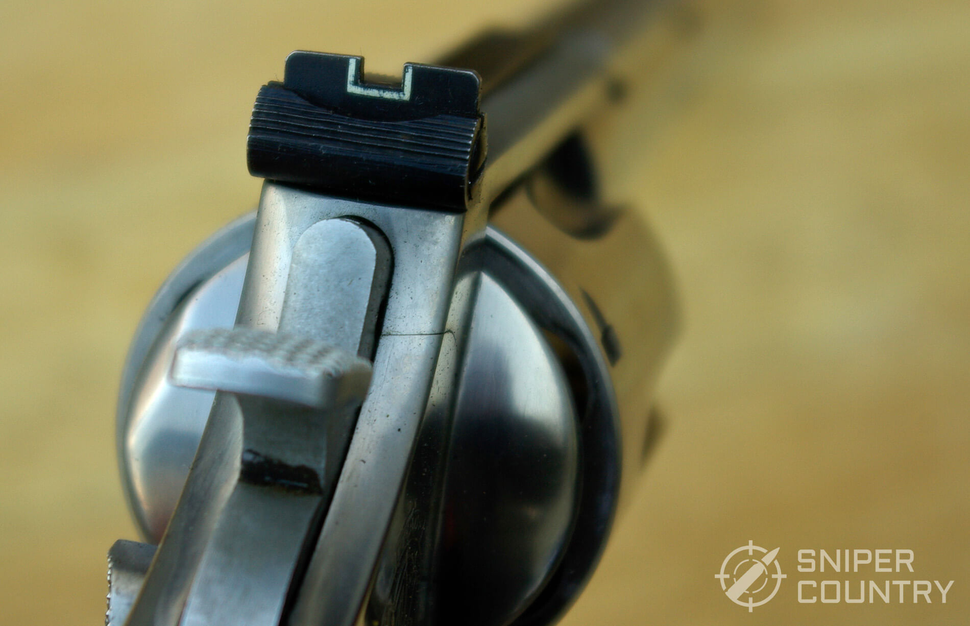 Smith & Wesson Model 629 Rear Sight