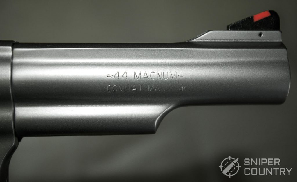 Smith & Wesson Model 69 Barrel and Logo
