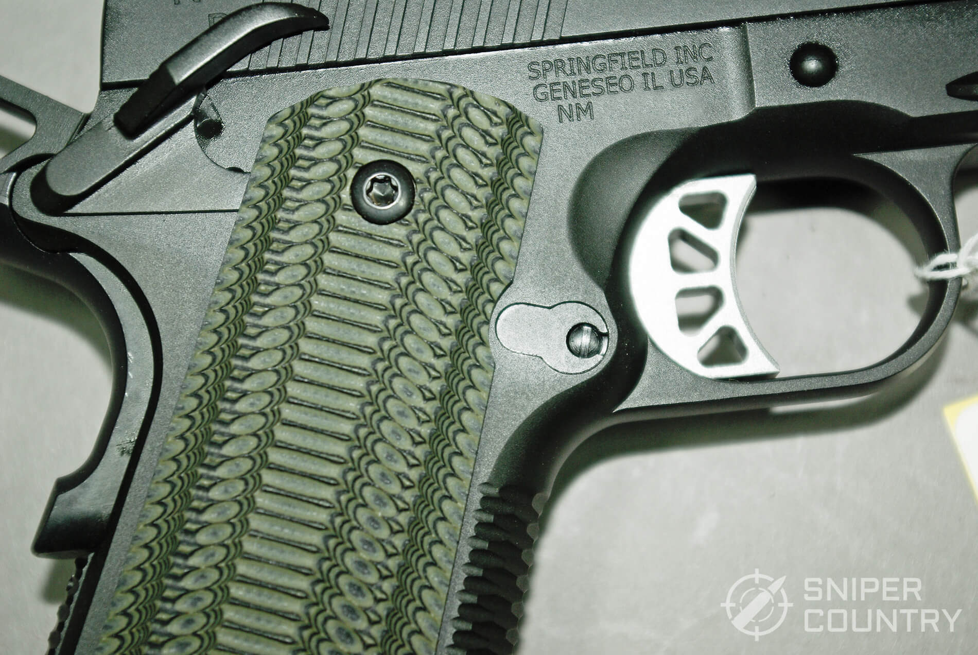 Springfield 1911 TRP 10mm Grip Safety
