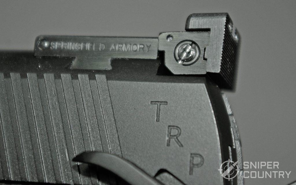 Springfield 1911 TRP 10mm adjustable Rear Sight
