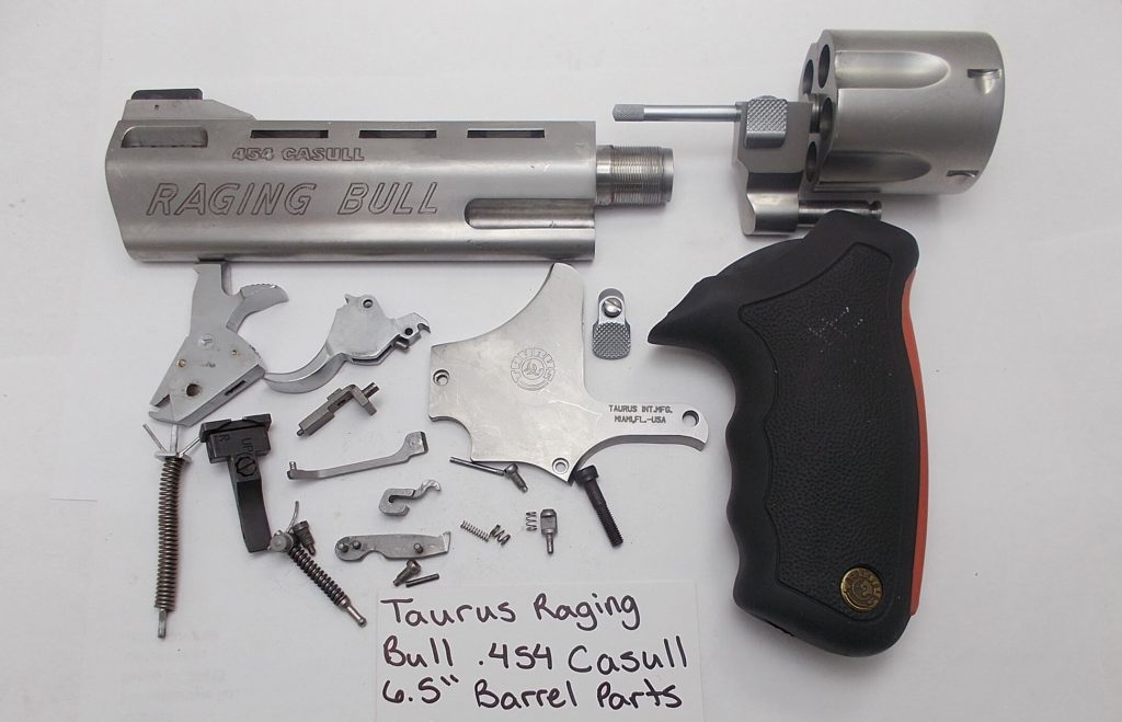 Taurus Raging Bull Disassembled