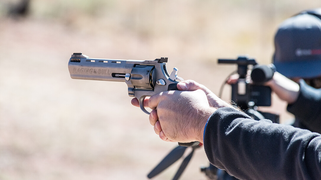 Shooting the Taurus Raging Bull .44 Magnum