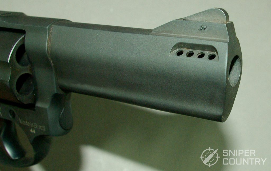 Taurus Tracker Barrel Vents