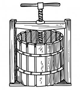 Wine Press Concept