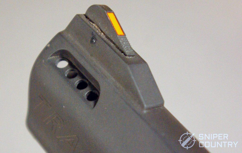 Taurus Tracker Vent Closeup