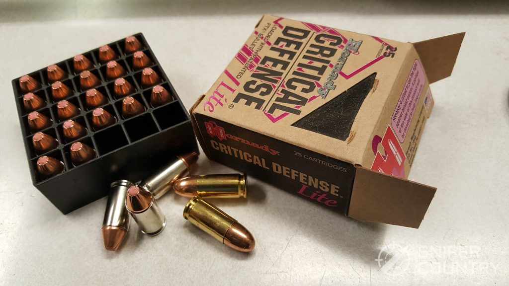 9mm Ammo for self defense