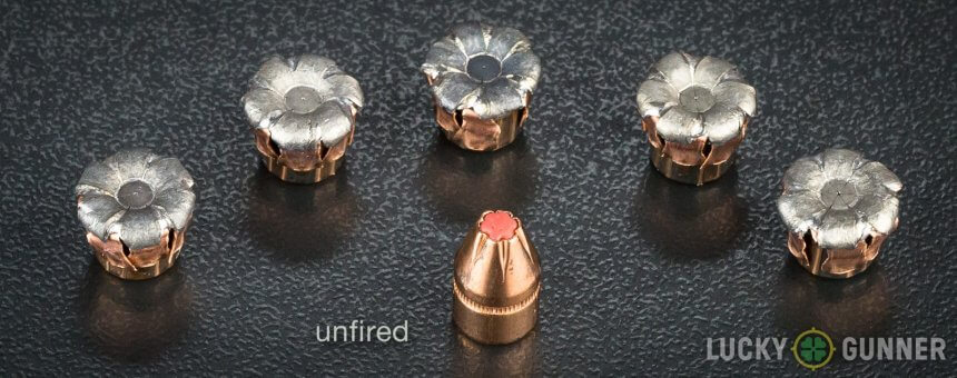 Hornady Critical Defense 115 Grain Expansion