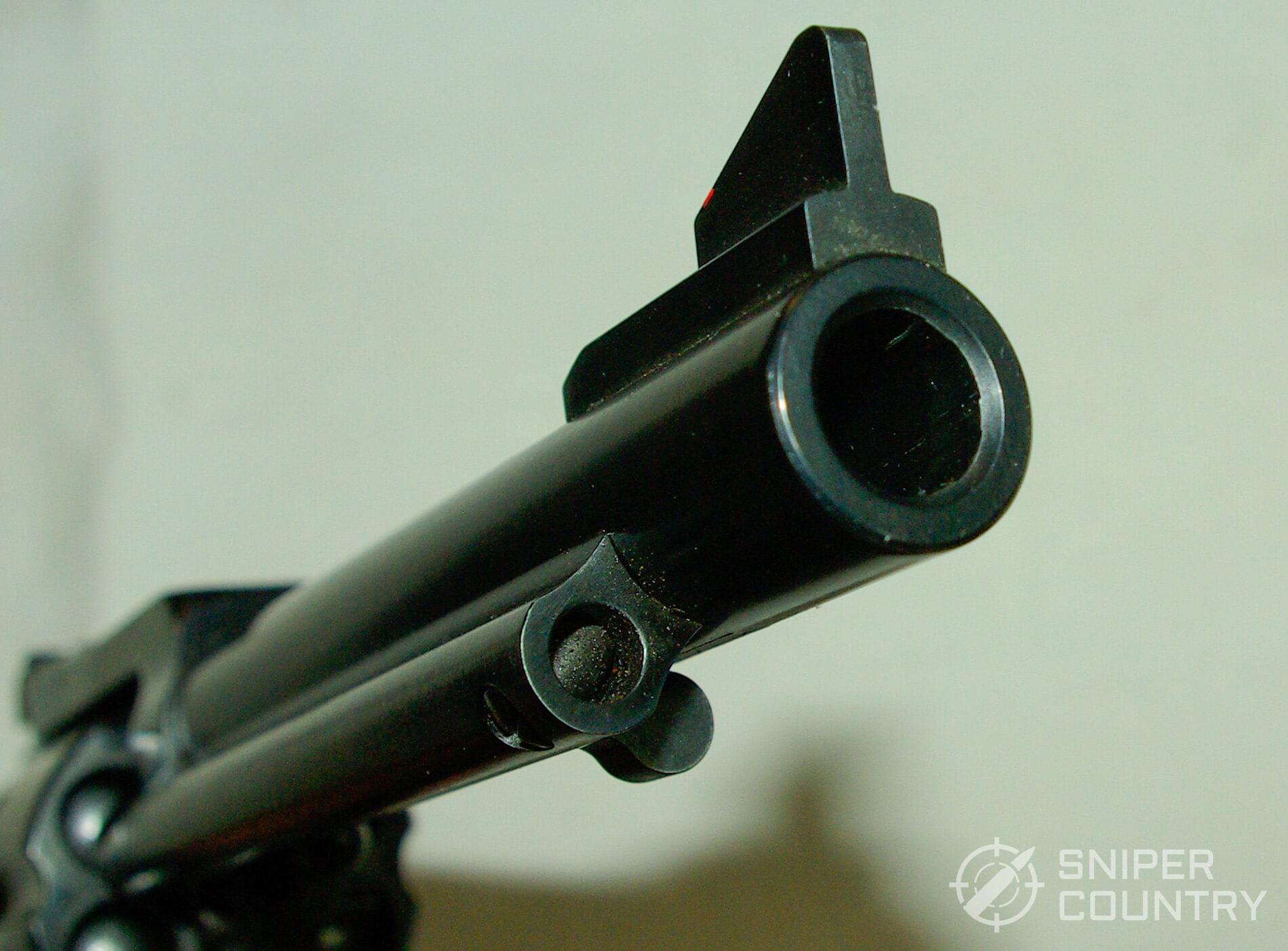Ruger Blackhawk .45 Colt Muzzle