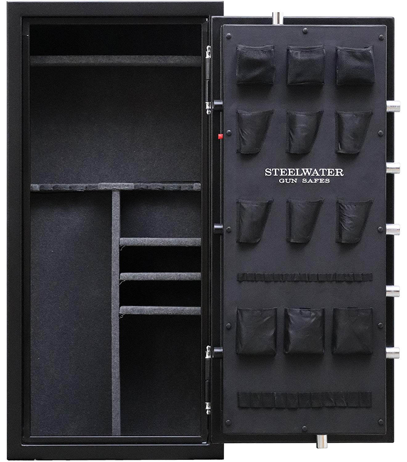 Steelwater safe door storage