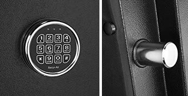 barska keypad and locking bolt